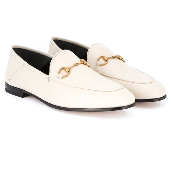 363c6e8febffa Gucci Brixton loafers ($630) ❤ liked on Polyvore featuring shoes ...