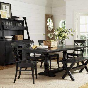 Black Granite Dining Room Table Black Wooden Dining Room Table  Httpecigcoach  Pinterest