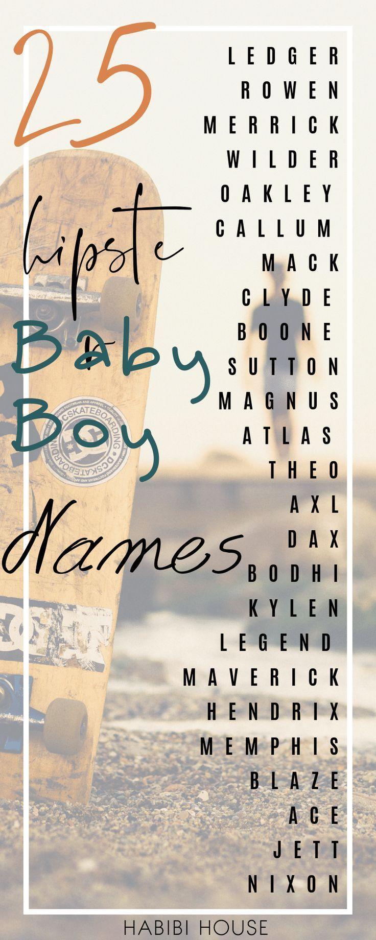 Jungennamen: 25 ungewöhnliche Jungennamen, die es 2019 töten! -  Sie müssen diese sehr einzigartige Babynamensliste für die Hippie-Eltern sehen. Tausendjährige E - #babyboy #babygirl #babymusthaves #babynames #die #jungennamen #toten #ungewohnliche #babynamesboy