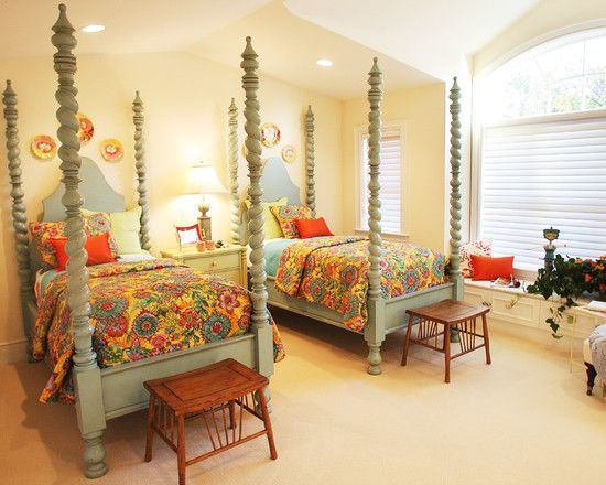 Bedroom Twin Bed Design Pictures Remodel Decor And Ideas Page