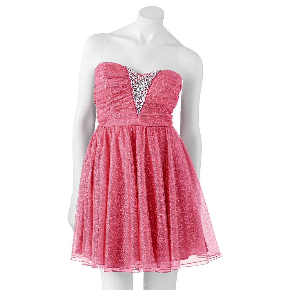 Homecoming Dress NEW Beaded Tulle Party Gown size 7 Juniors 7/8 ...