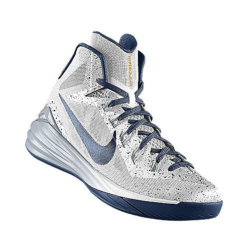 sports shoes 09573 3de40 I designed the white Penn State Nittany Lions Nike women s basketball shoe.