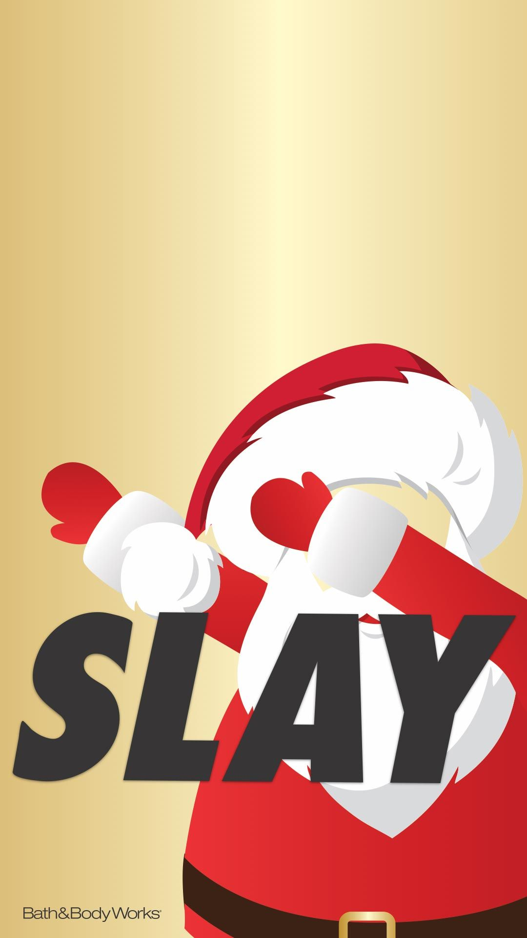 Santa Slay Wallpaper | Bath & Body Works Wallpapers! in 2018 ...