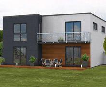 Kubus158 - Kubus-Haus mit zeitgemäßer Architektur