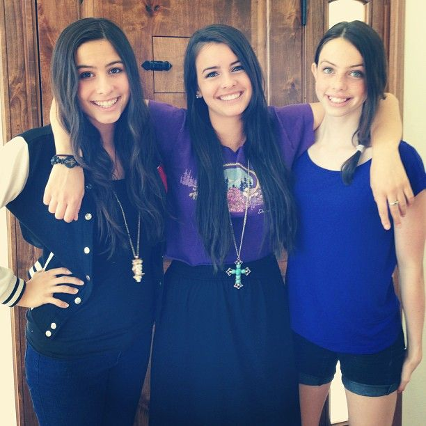 Lauren, Lisa, and Dani