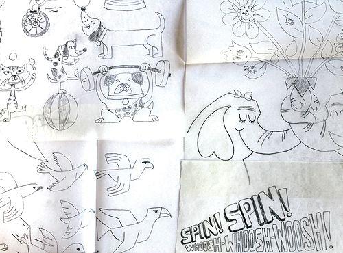 Tad Carpenter- illustration and font
