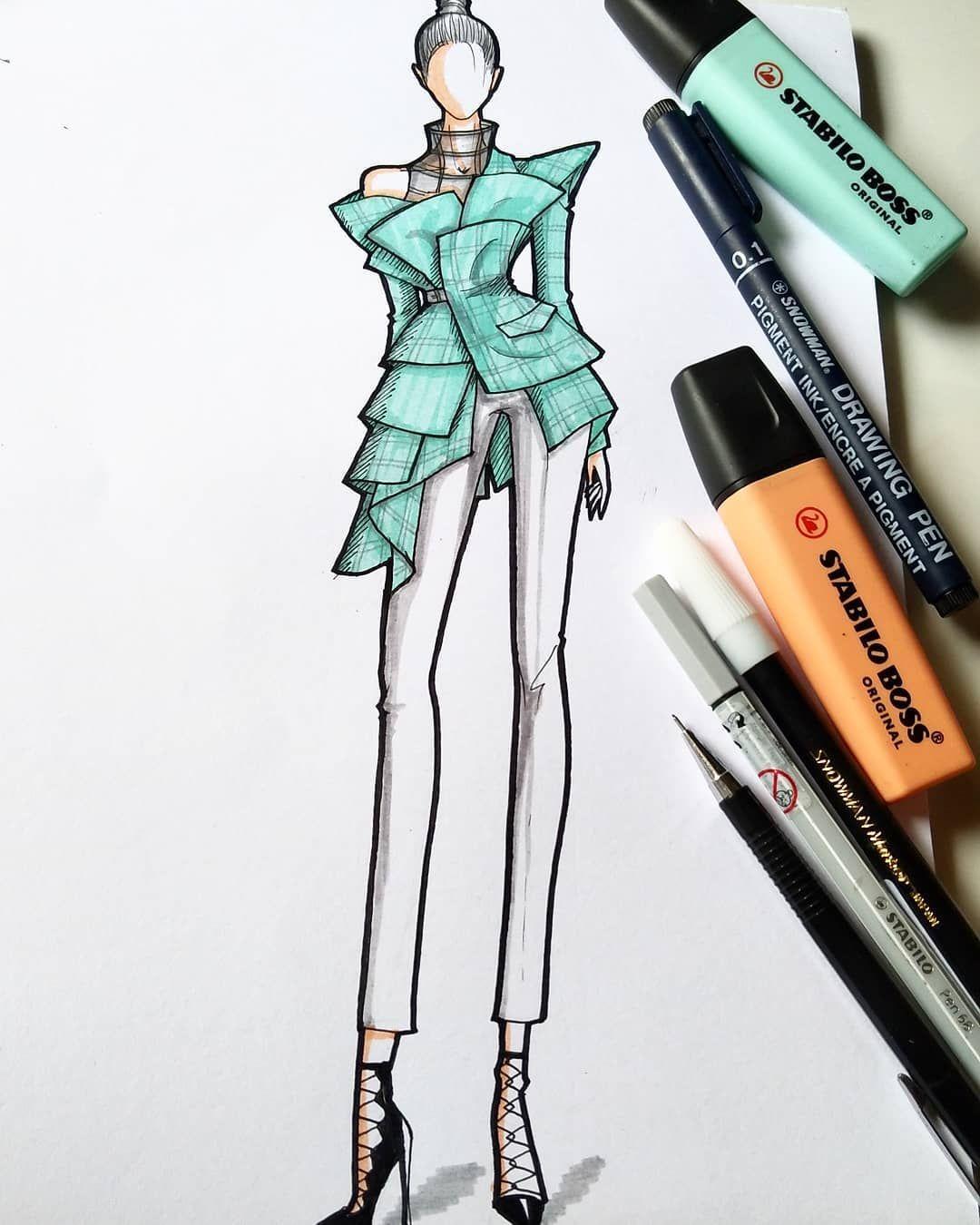 2 Of 6 Fashionillustration