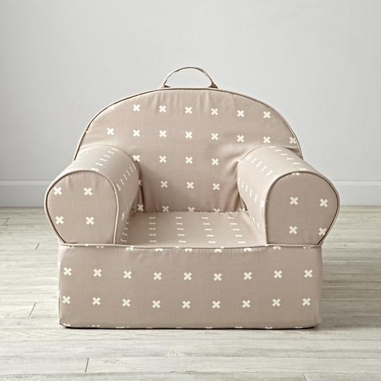 Awe Inspiring Grey X Print Kids Executive Nod Chair Set The Land Of Nod Pabps2019 Chair Design Images Pabps2019Com