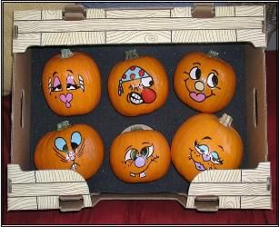 Google Image Result For Http Dfd Dannysfalldecor Painted Pumpkin Facespainted