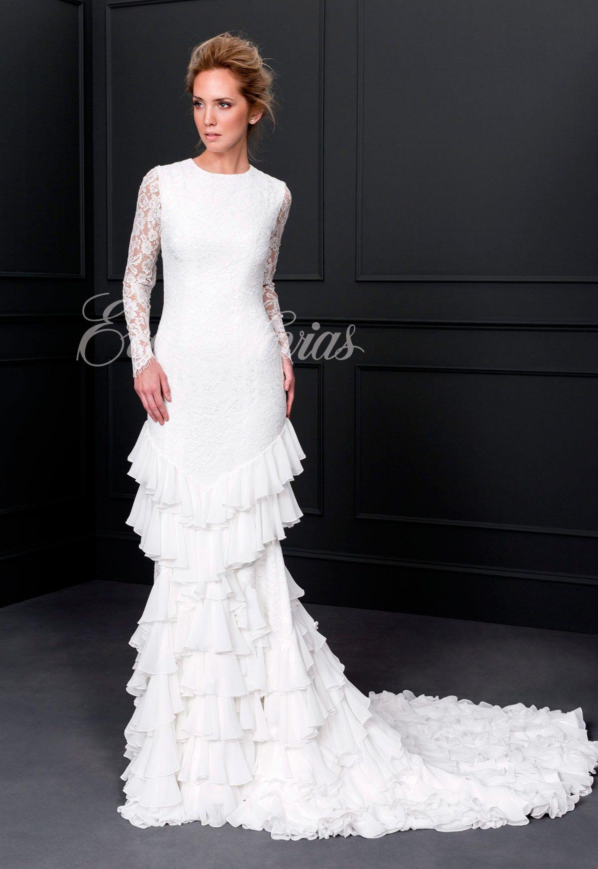 c37bc456c Vestido de novia colección 2017 de Victoria Modelo Bosque en Eva Novias  Calle Goya