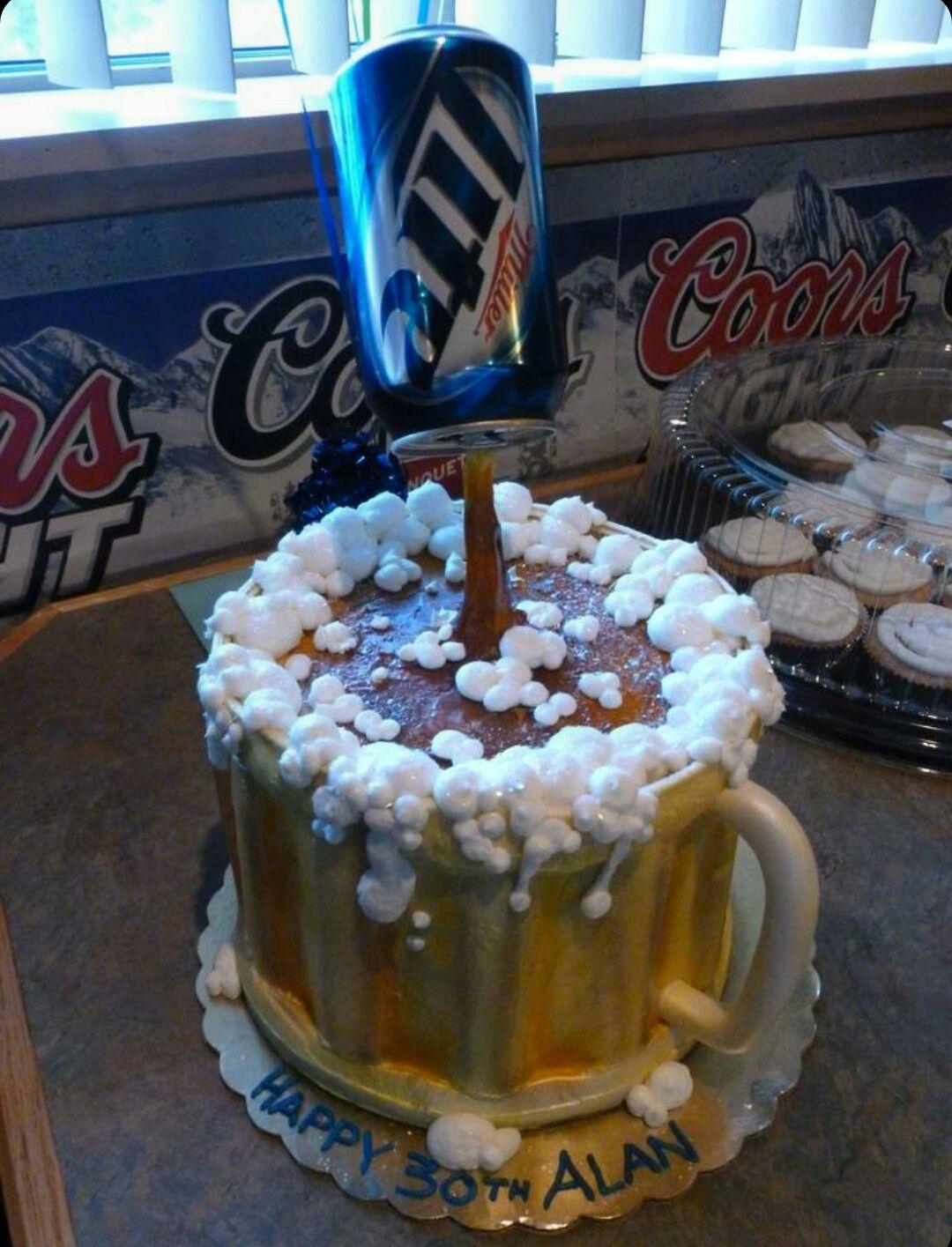 A Miller Lite Cake The Art Of Cakes Pinterest Miller Lite Cake