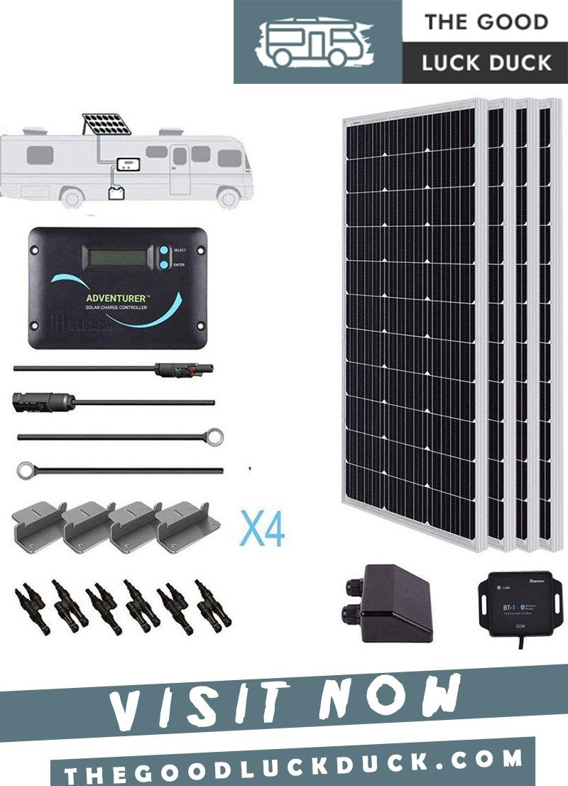 Solar Panels To Charge Rv Battery In 2020 Rv Solar Panels Rv Solar Solar Panels