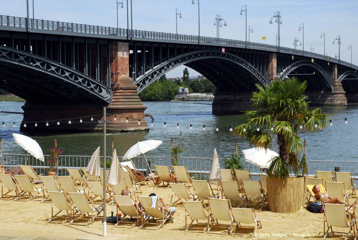 Strand Bei Der Theodor Heuss Brucke Mit Bildern Mainz Fernweh Strand
