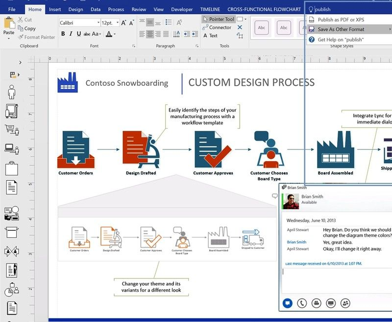 Microsofts visio diagram creation tool slated to be released for microsofts visio diagram creation tool slated to be released for windows phones ccuart Images