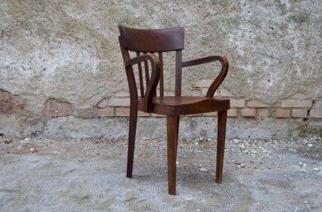 Fauteuil armchair de bureau américain ancien style art déco
