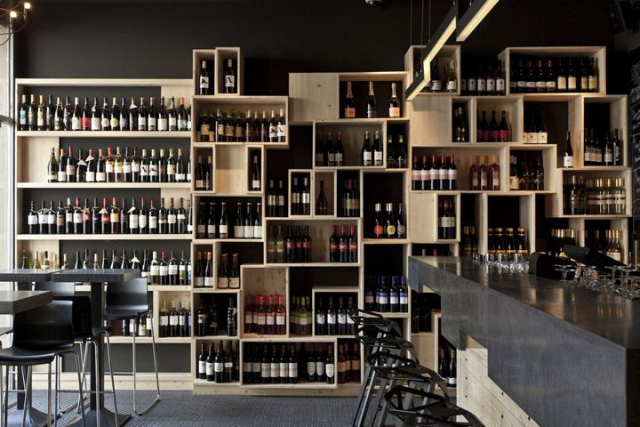 Divino Wine Bar by suto interior architects, Budapest- Simple and ...