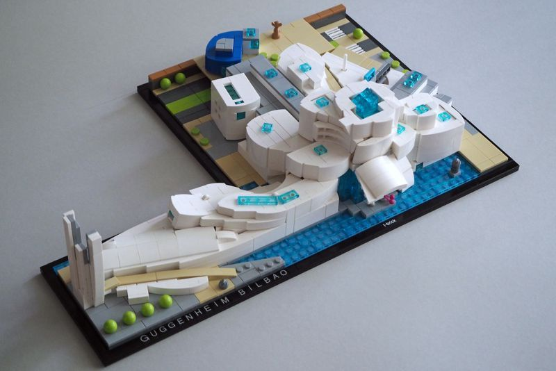 This is one building I have always wanted to see in microscale. T ...