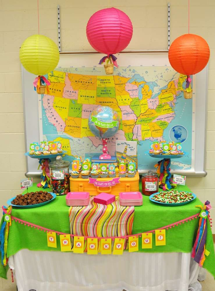 Oh The Places You Ll Go Staff Appreciation Party Ideas