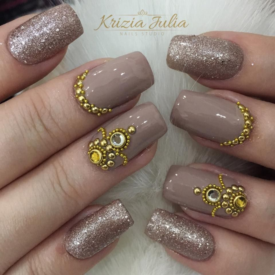 Pin by Brieanna Coleman on Nails | Pinterest | Manicure, Jewel nails ...