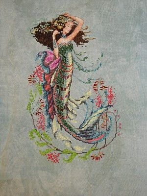 maiden.mother.crone: South Seas Mermaid | cross stitch mermaids ...