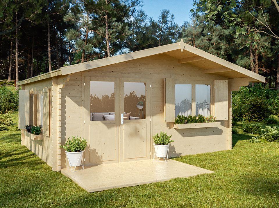 Chalet habitable CALGARY 18m² au design contemporain | Abri de ...