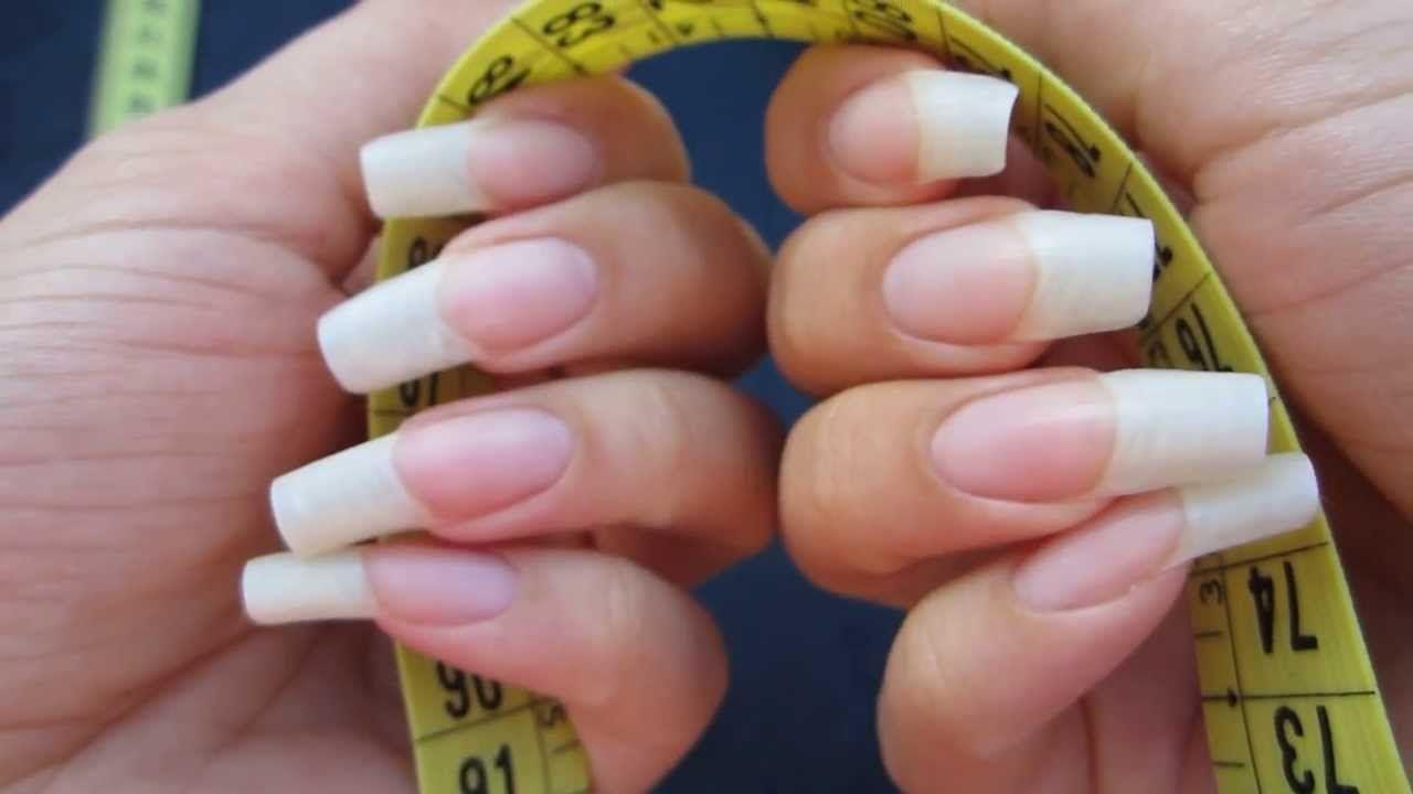Long natural nails | maxresdefault.jpg | Nails | Pinterest | Long ...