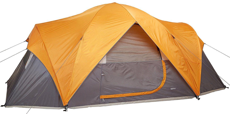 Amazon.com  AmazonBasics 8-Person Family Tent  Sports u0026 Outdoors  sc 1 st  Pinterest & Amazon.com : AmazonBasics 8-Person Family Tent : Sports u0026 Outdoors ...