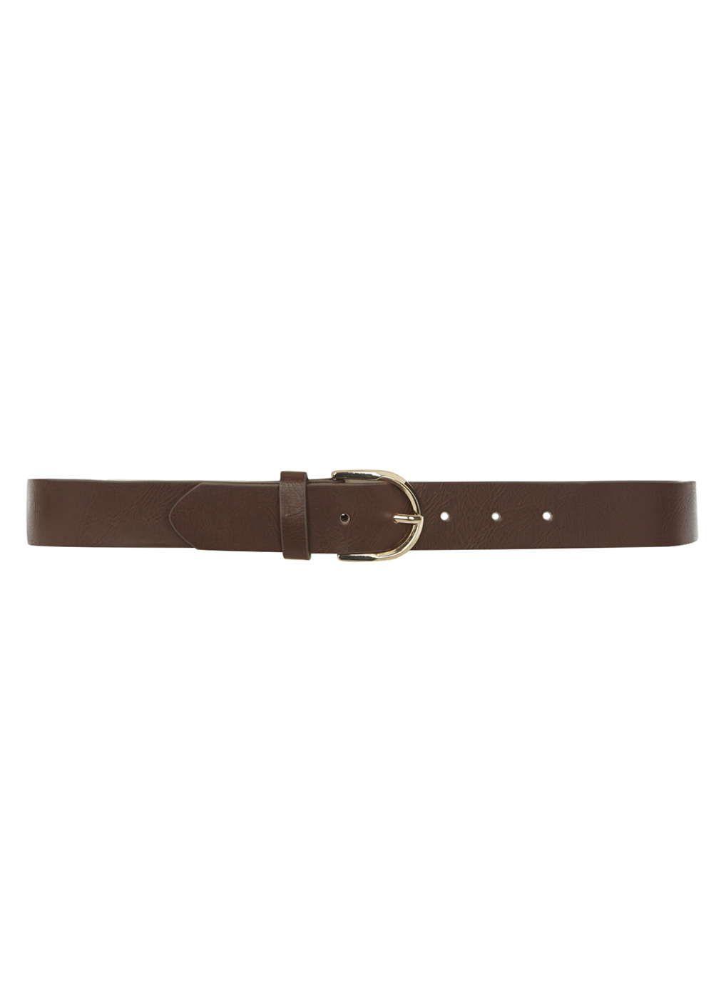 Chocolate Crescent Jean Belt - Dorothy Perkins