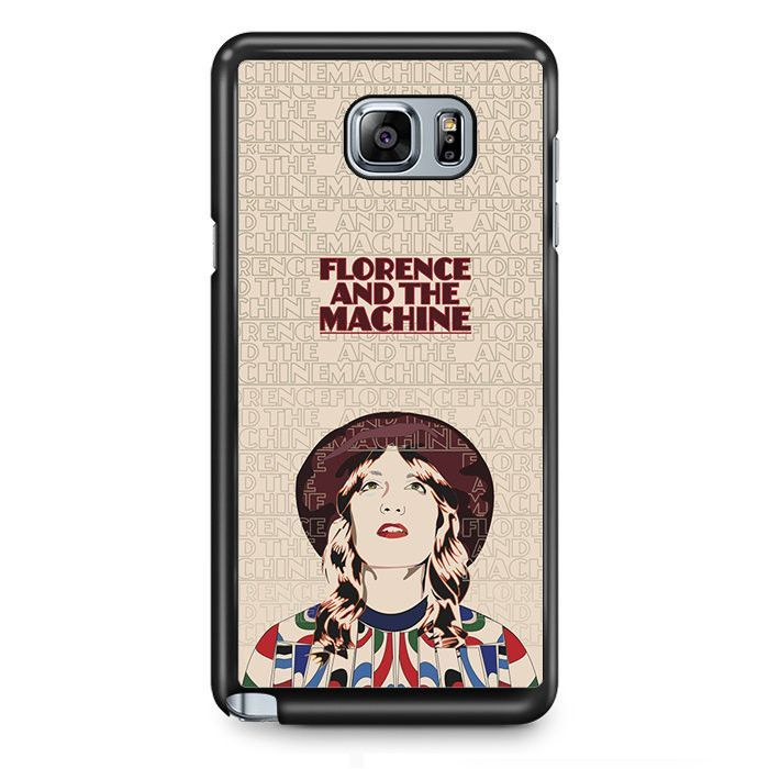 Florence And The Machine Poster TATUM-4293 Samsung Phonecase Cover Samsung Galaxy Note 2 Note 3 Note 4 Note 5 Note Edge