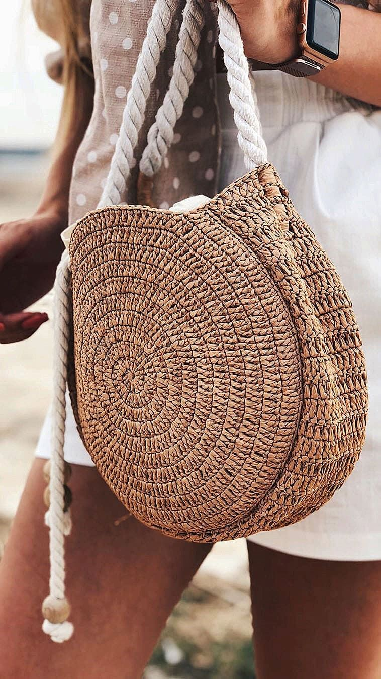 50+ Glamorous Crochet Bag Patterns for Summer 2019 – Page 47 of 81
