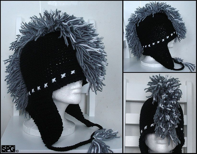 Beautiful Knit Mohawk Hat Pattern Mold Easy Scarf Knitting