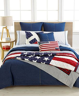 Tommy Hilfiger Quot Denim Quot Bedding Collection Bedding In