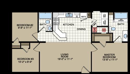 Redman Homes Modular Homes Manufactured Homes Floor