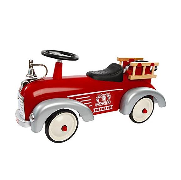 Correpasillos camión de bomberos vintage de color rojo de Baghera ...