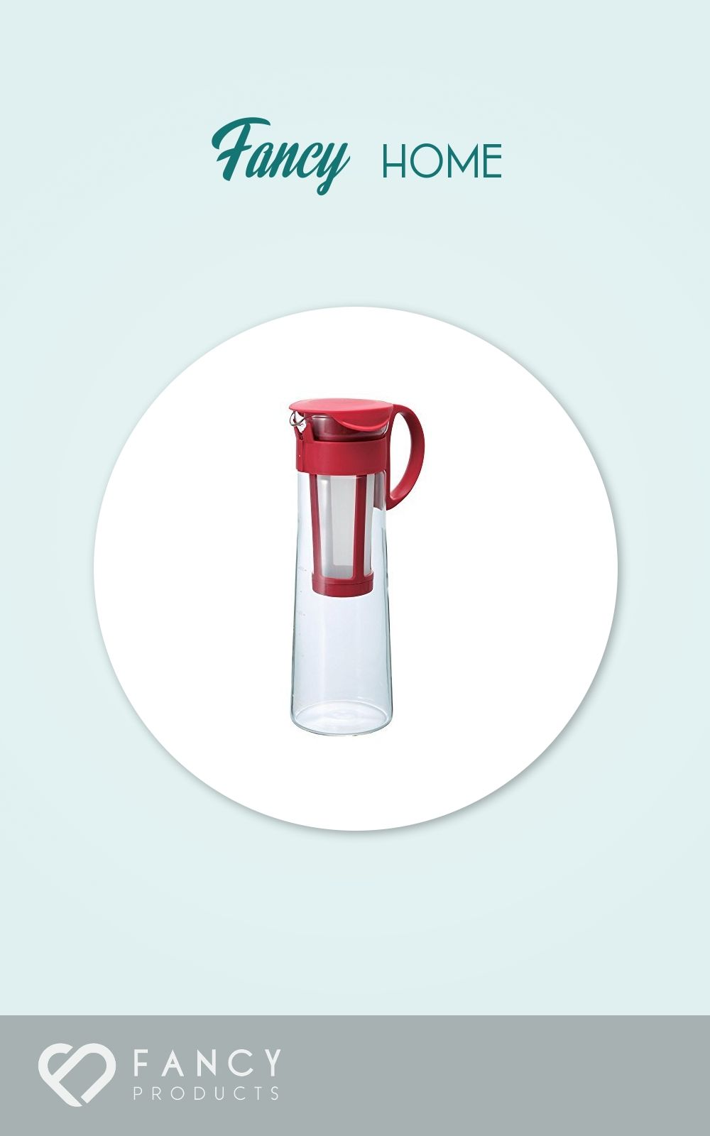 Hario Mizudashi Cold Brew Coffee Pot 1000ml Merah Spec Dan Daftar Pitcher Cbc 10sv 26 5 Iced Maker Red