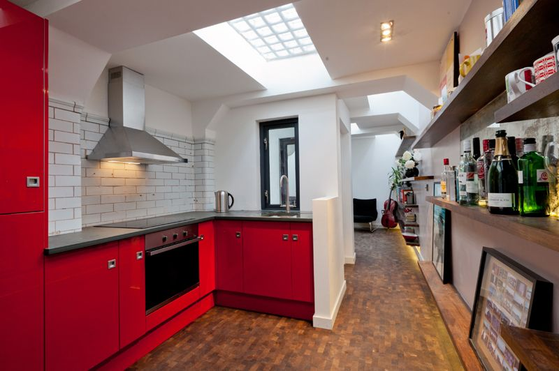 interior design, home decor, kitchens, red, Crystal Palace ...