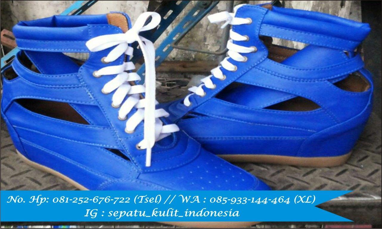 Sepatu Kulit Pria Asli Wanita K Rc137 Malang
