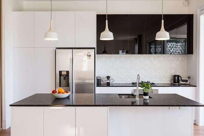Plan De Cuisine Moderne ▷ 1001 + conseils et idées pour aménager une cuisine moderne