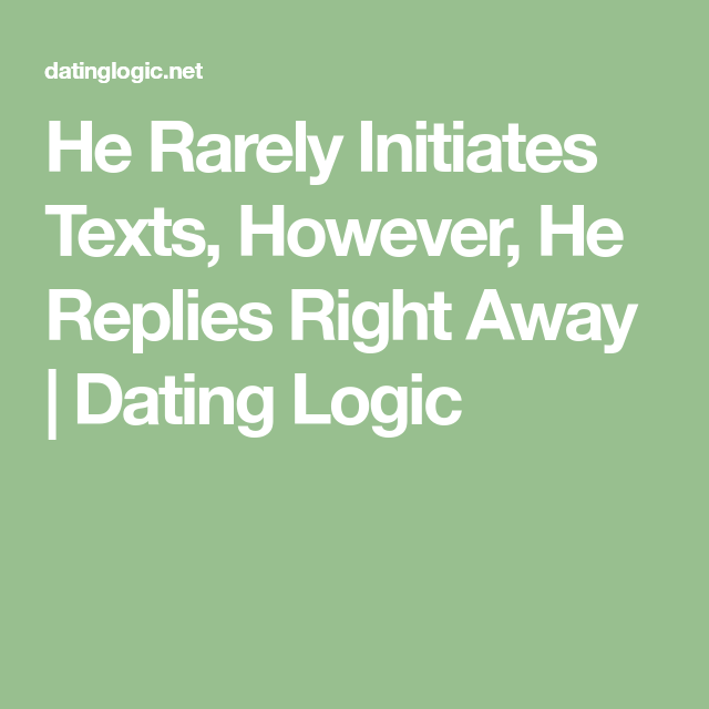 Dating logic text
