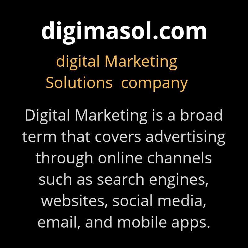 Pin by Shankar Infosystems on DIGIMASOL Marketing