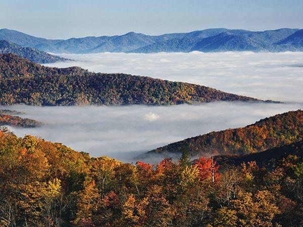 Best of the World, Fall Trip: Black Mountain, North Carolina — Photo by Adam Jones/Corbis