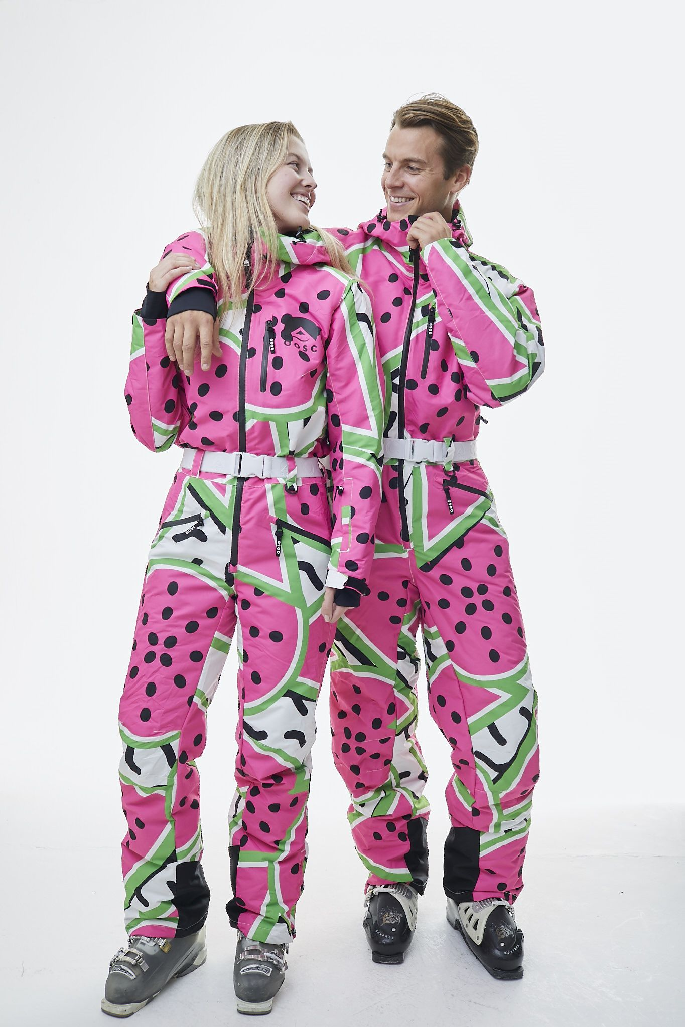 All In One Ski Suit Watermelon Oosc Clothing Clothes Ski Women Suits