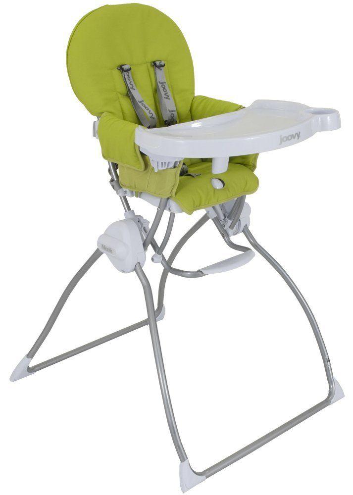 Joovy Nook Highchair green, black, white, orange SWING