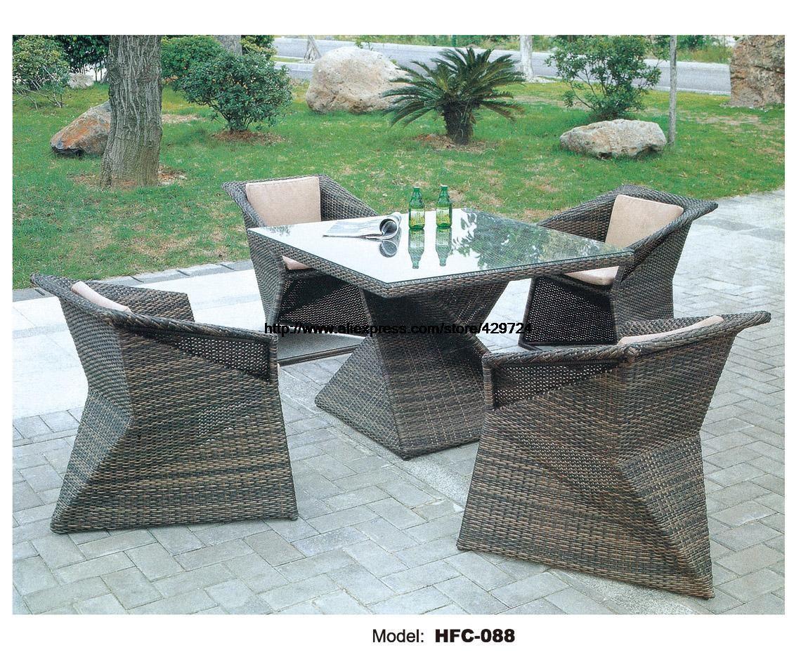 Kreative Rautenförmigen Tisch Stuhl Set Modernes Design