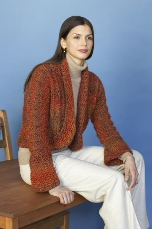 Everyday Flair Bolero Easy Knit With Bulky Yarn Knit Patterns