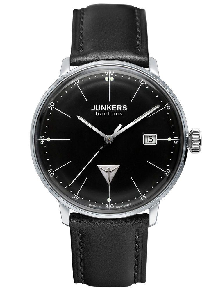 Junkers Watch Bauhaus Mens Wrist Band Watch 6070-2 38afec9c37