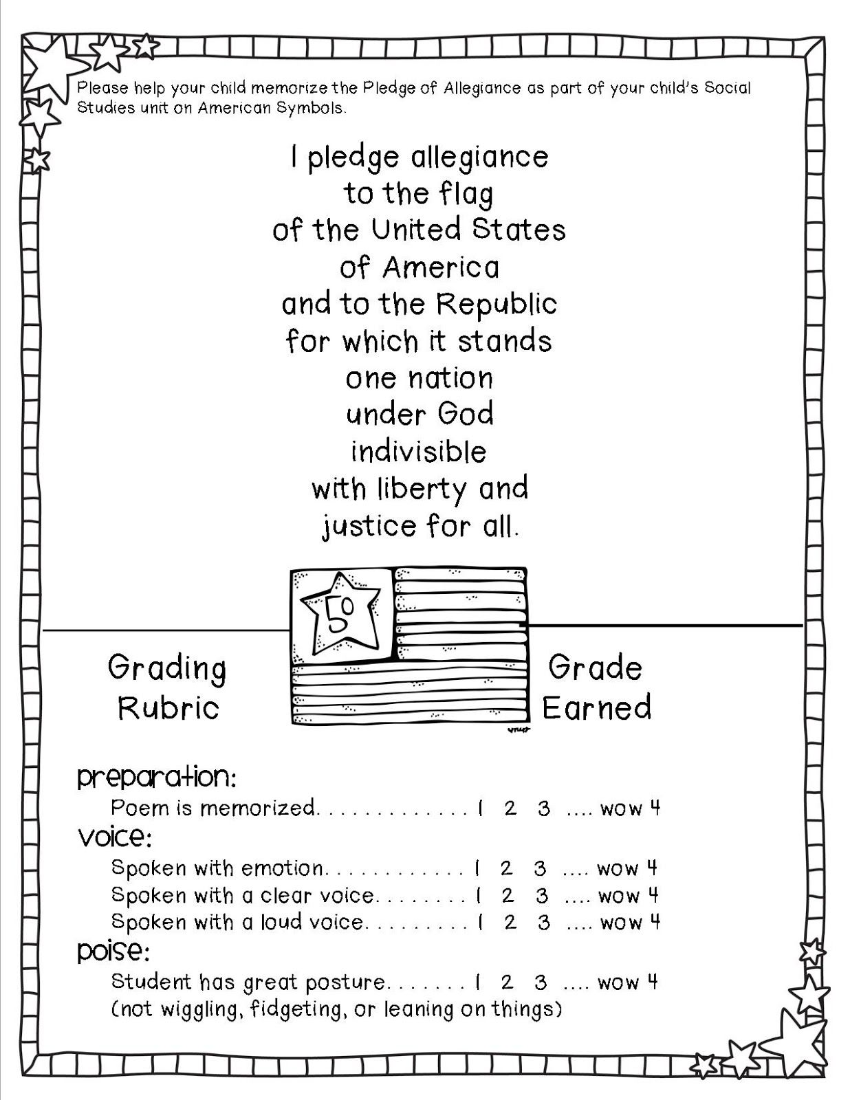 Teacher To The Core American Symbols