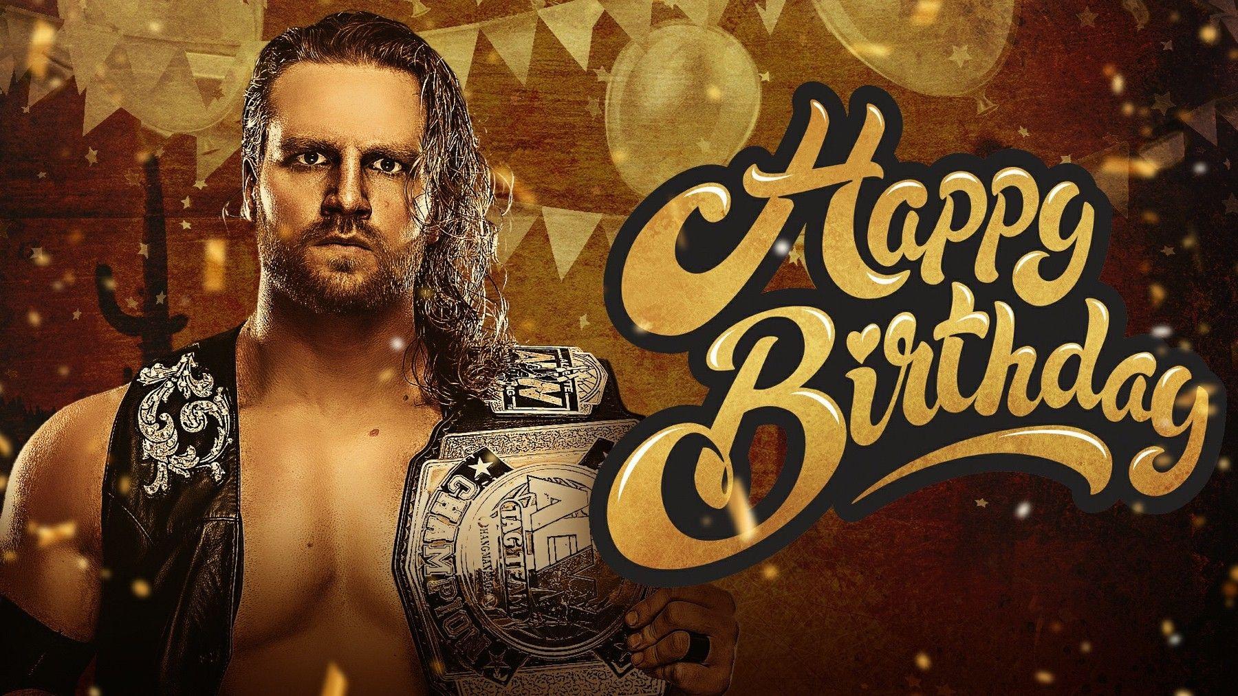Hangman Adam Page All Elite Wrestling Birthday Wrestling Birthday Elite Wrestling
