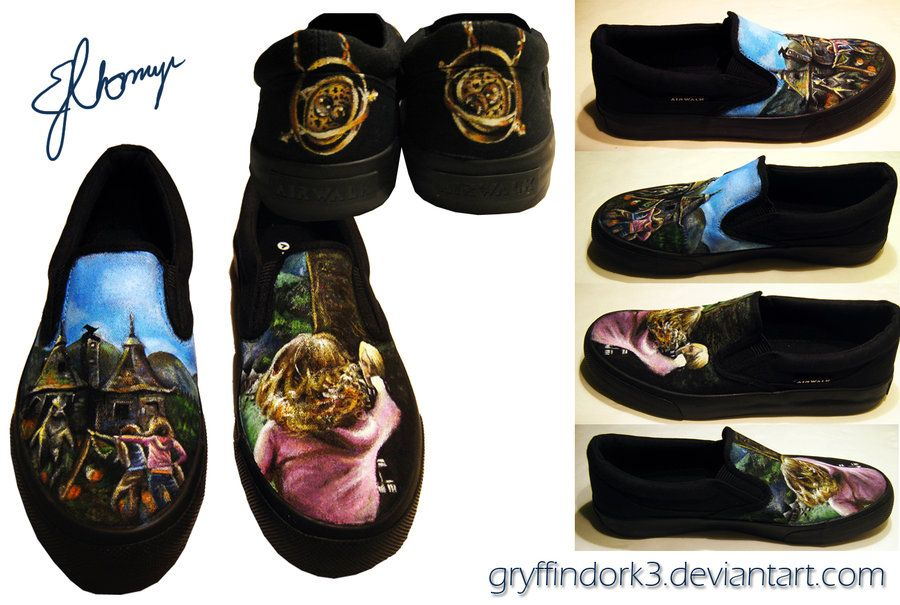 Harry Potter Shoes - The Prisoner of Azkaban