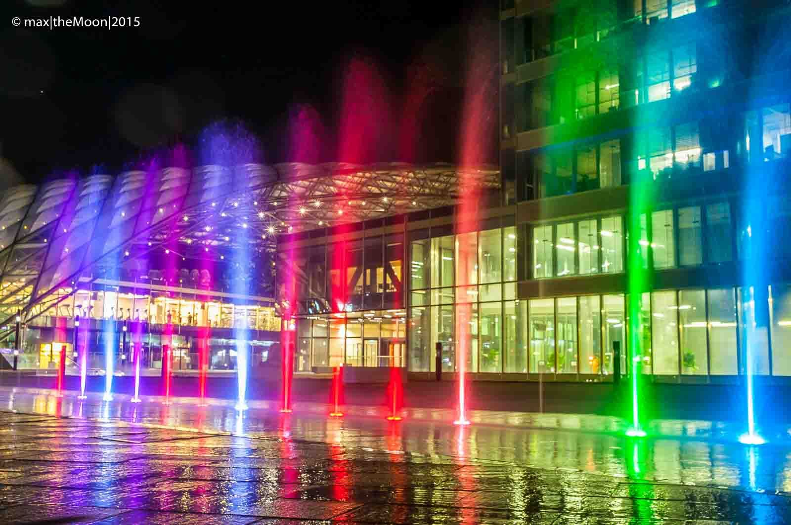 Color in Torre  Bologna - Italy  #bologna   #torreunipol   #color   #play   #wet   #water   #rainbow